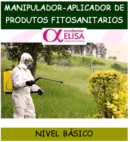 Manipulador de Productos Fitosanitarios. NIVEL BÁSICO